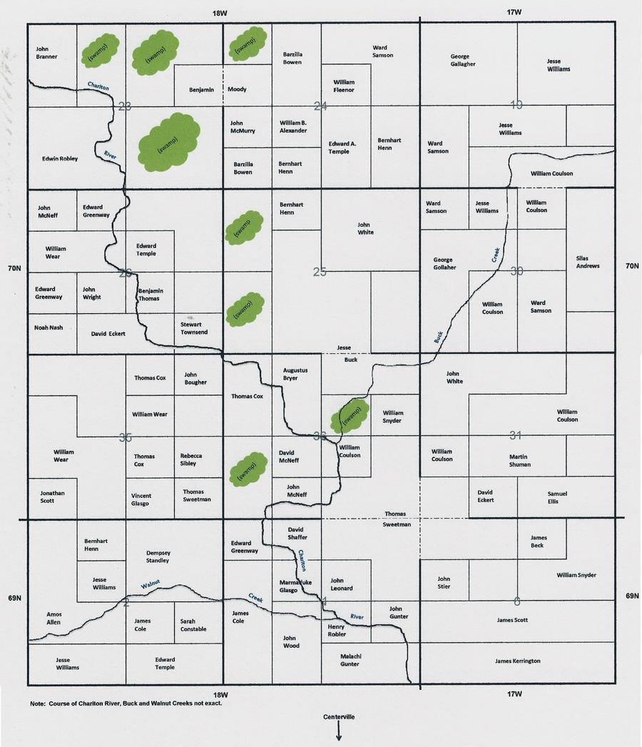 Chariton and Walnut Townships