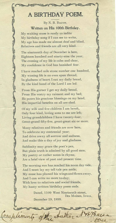 100th Church Anniversary Poems | just b.CAUSE
