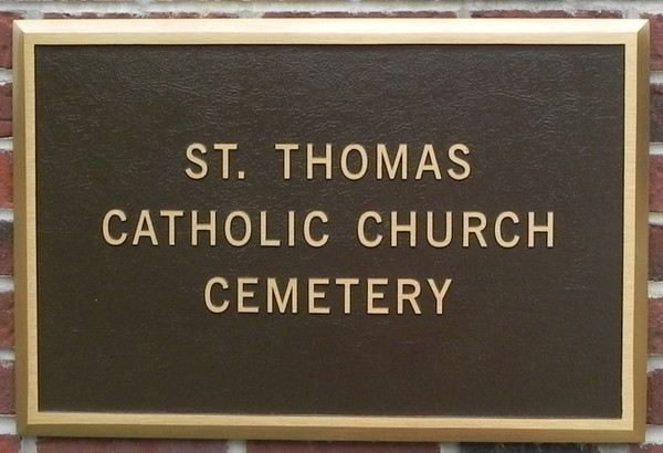St. Thomas Catholic Church Cemetery