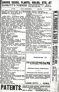 Pg. 891 in 1903 - 1904 Iowa State Gazetteer & Business Directory