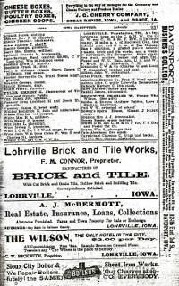Pg. 931 in 1903 - 1904 Iowa State Gazetteer & Business Directory