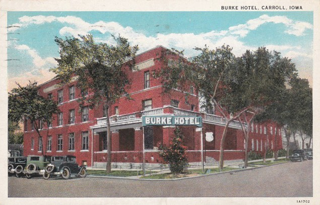 Burke Hotel Carroll Iowa