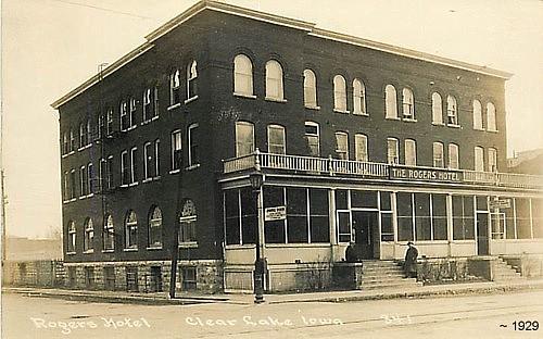 Elk Rogers Hotel A K Park 223 Main Ave Clear Lake Ia