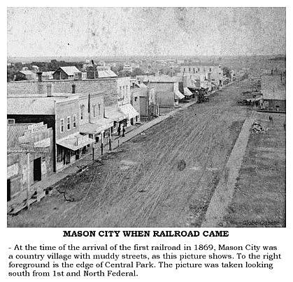 West Brothers Sullivan Mo >> IAGENWeb ~ Cerro Gordo Co. ~ Mason City's Centennial ~ The Mason City Story ~ Pioneer Years