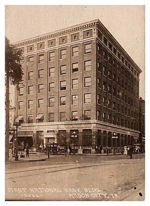 The First National Bank Was Designed By Architects Liebee