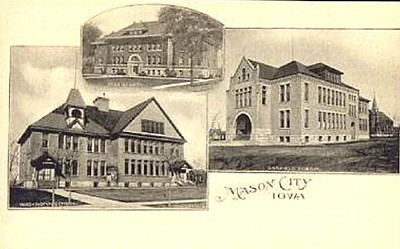 Washington school high school garfield school circa 1900