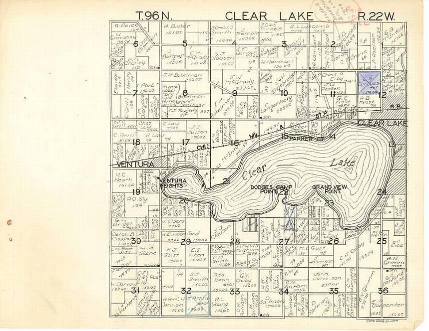 Mt Pleasant Iowa >> 1930 Platt Maps