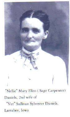 Mary Ellen Sage Carpenter Daniels