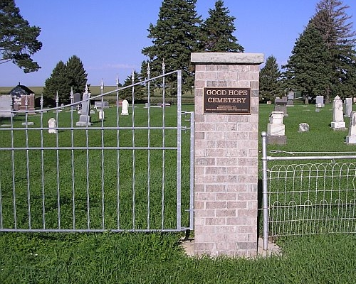 Entrance to Good Hope Cemetery