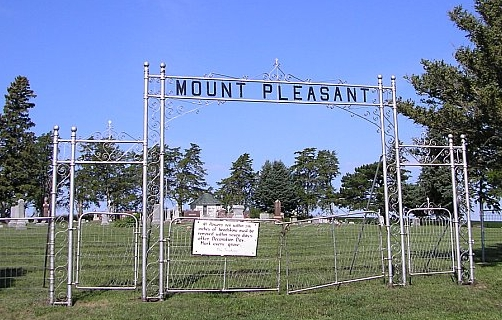 Entrance to Mount Pleasant Cemetery