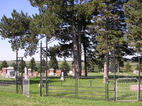 Entrance to Trinity Cemetery