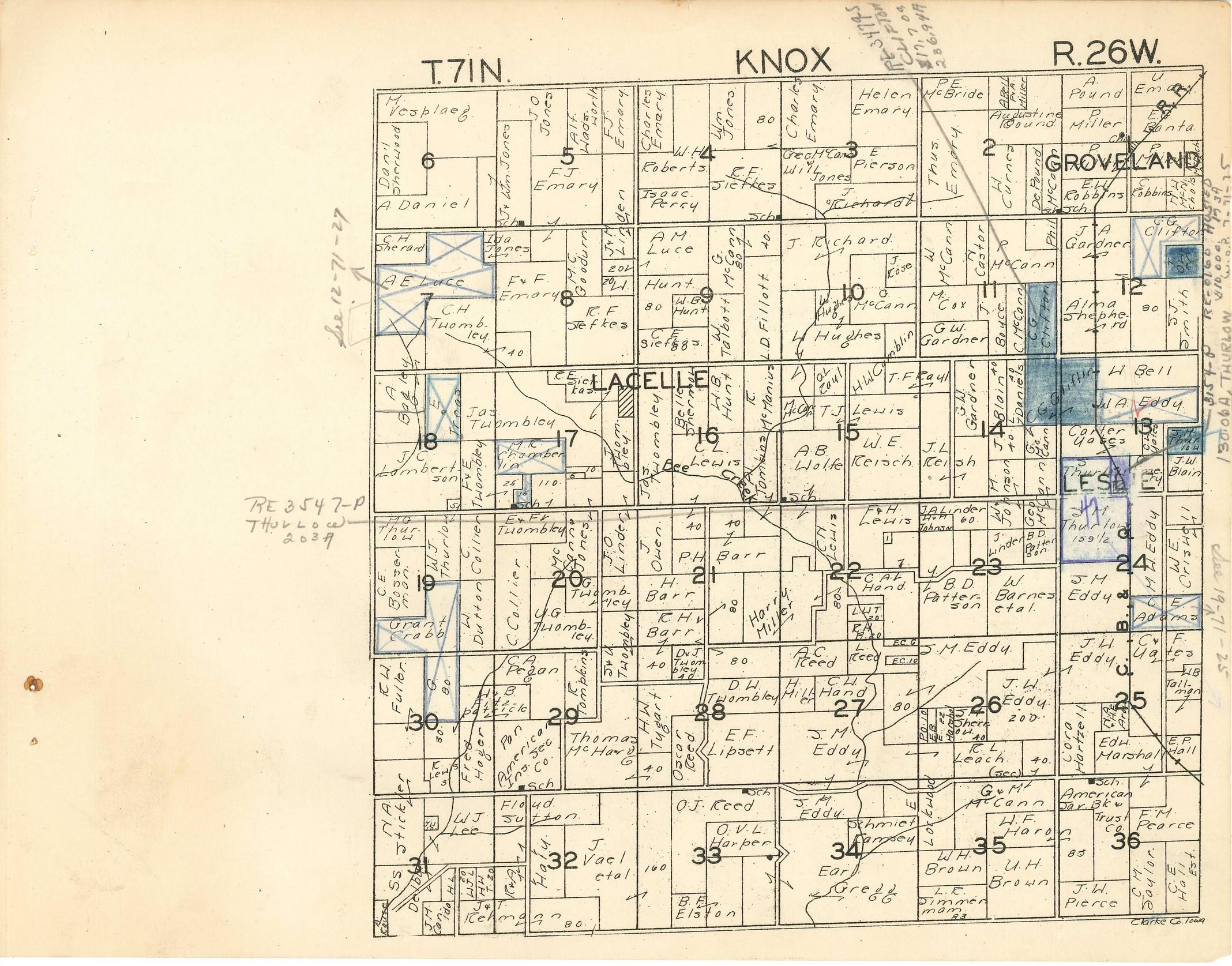Plat Maps Greene County Iagenweb City And Plat Maps 1917