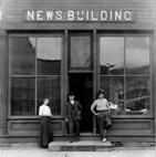 Arlington News Office, Brush Creek/Arlington Fayette Co., Iowa