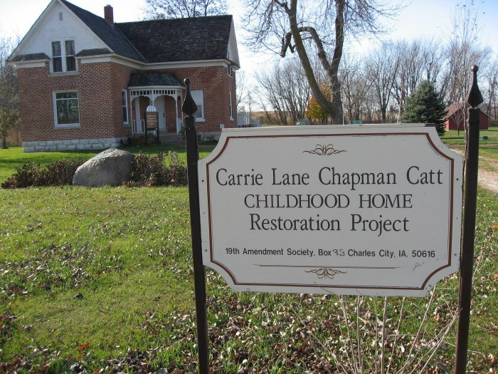 DETAILED description of Carrie Chapman Catt