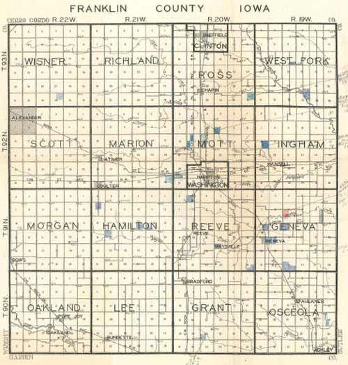 Research Help Towns Townships: Franklin County Plat Maps At Slyspyder.com