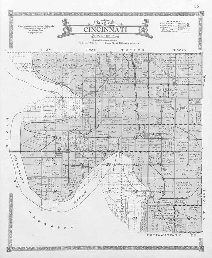 Harrison County Iowa Land Records