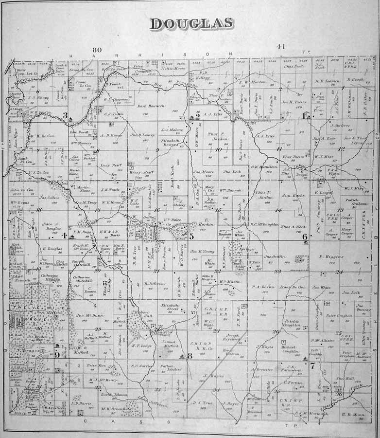 Harrison County Iowa