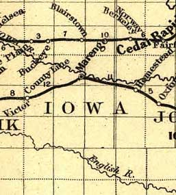 Iowa County IAGenWeb Records Maps Iowa County Maps - Iowa county map