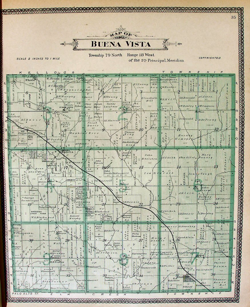 Jasper County Iowa Map.Maps Of Jasper County 1901
