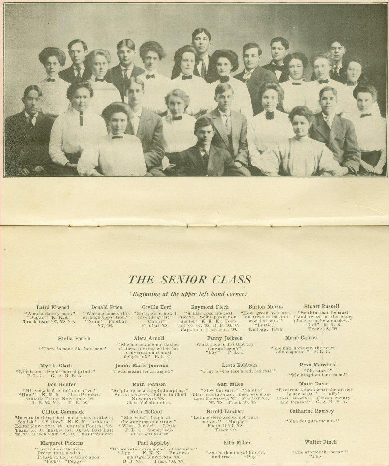 Cranbrook School Shooting Team 1947: Newton Iowa High School Graduates