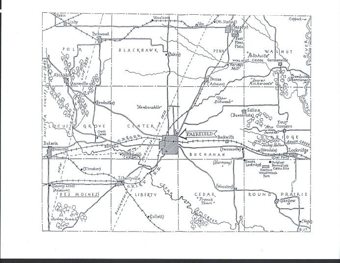 Jefferson County Iowa Map.Maps Of Jefferson County
