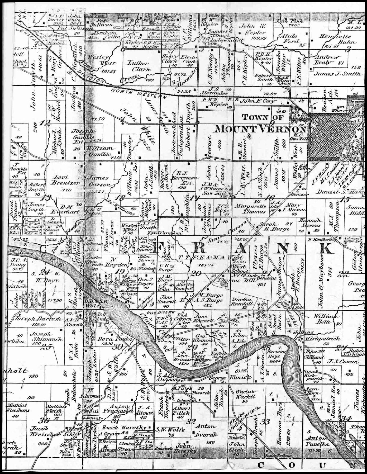 Linn County Iagenweb Maps Main Index Page