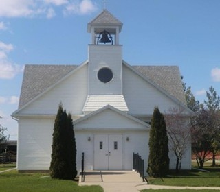 Historic Iowa County Chapel That Was >> Louisa County Iowa Historical Society Home Page