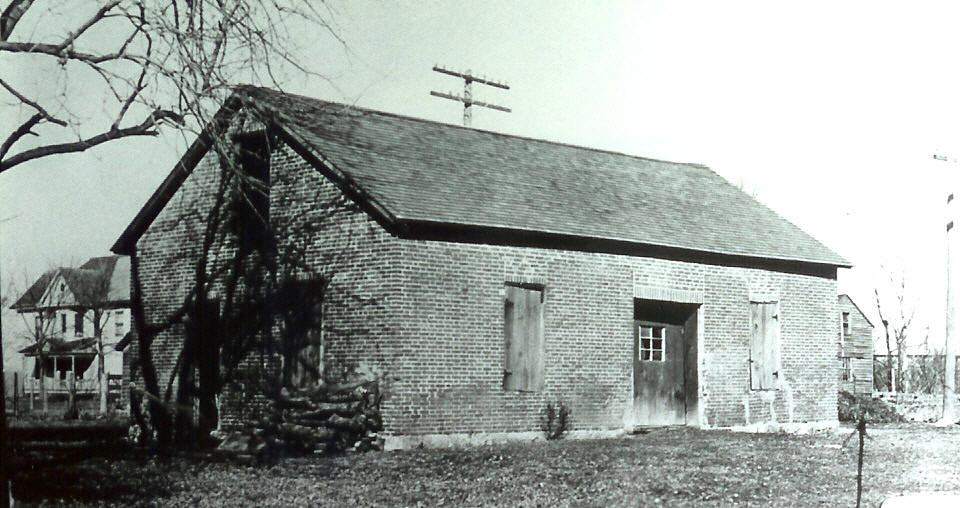 Historic Iowa County Chapel That Was >> Louisa County Iowa Early Settlements
