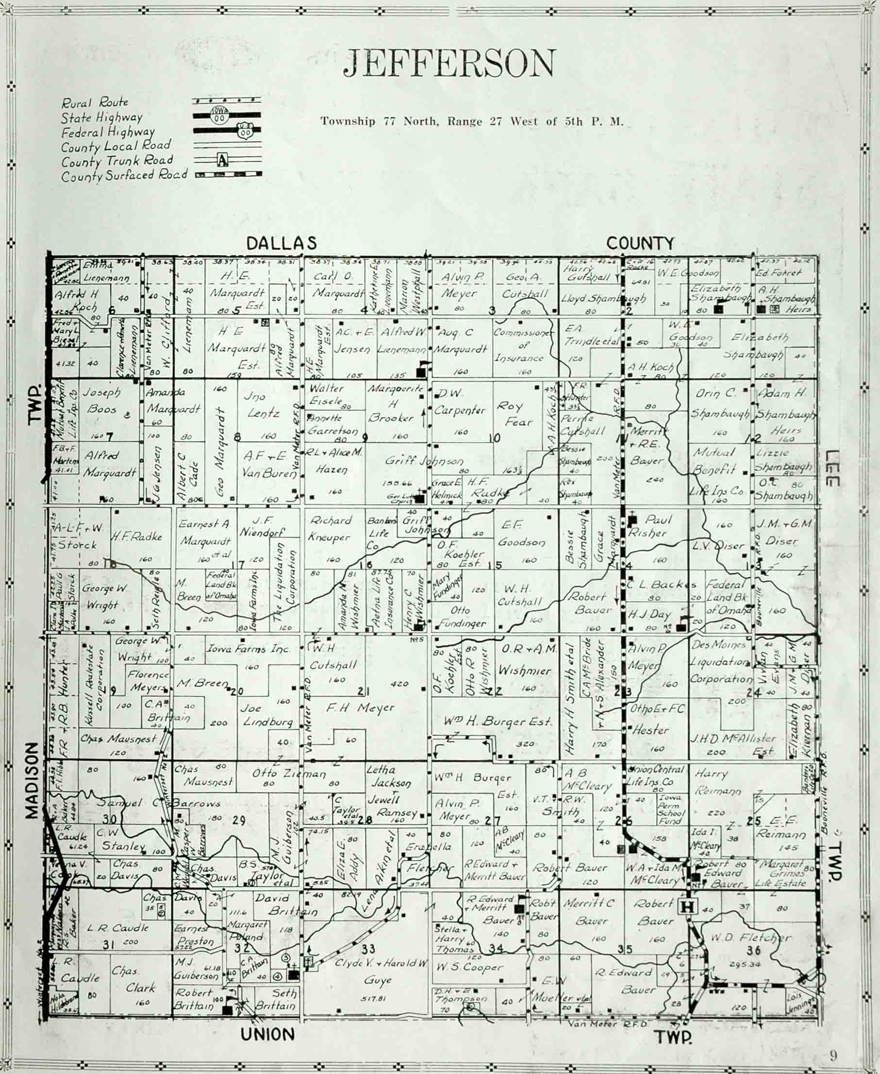 Map Index Page