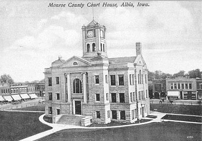 Monroe County-Courthouse History