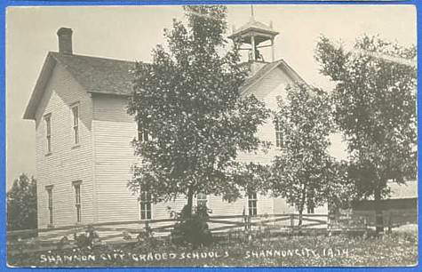 Ringgold County IAGenWeb Project ~ Shannon City School Index