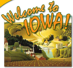 Welcome to Iowa! [Stone City Graphic]